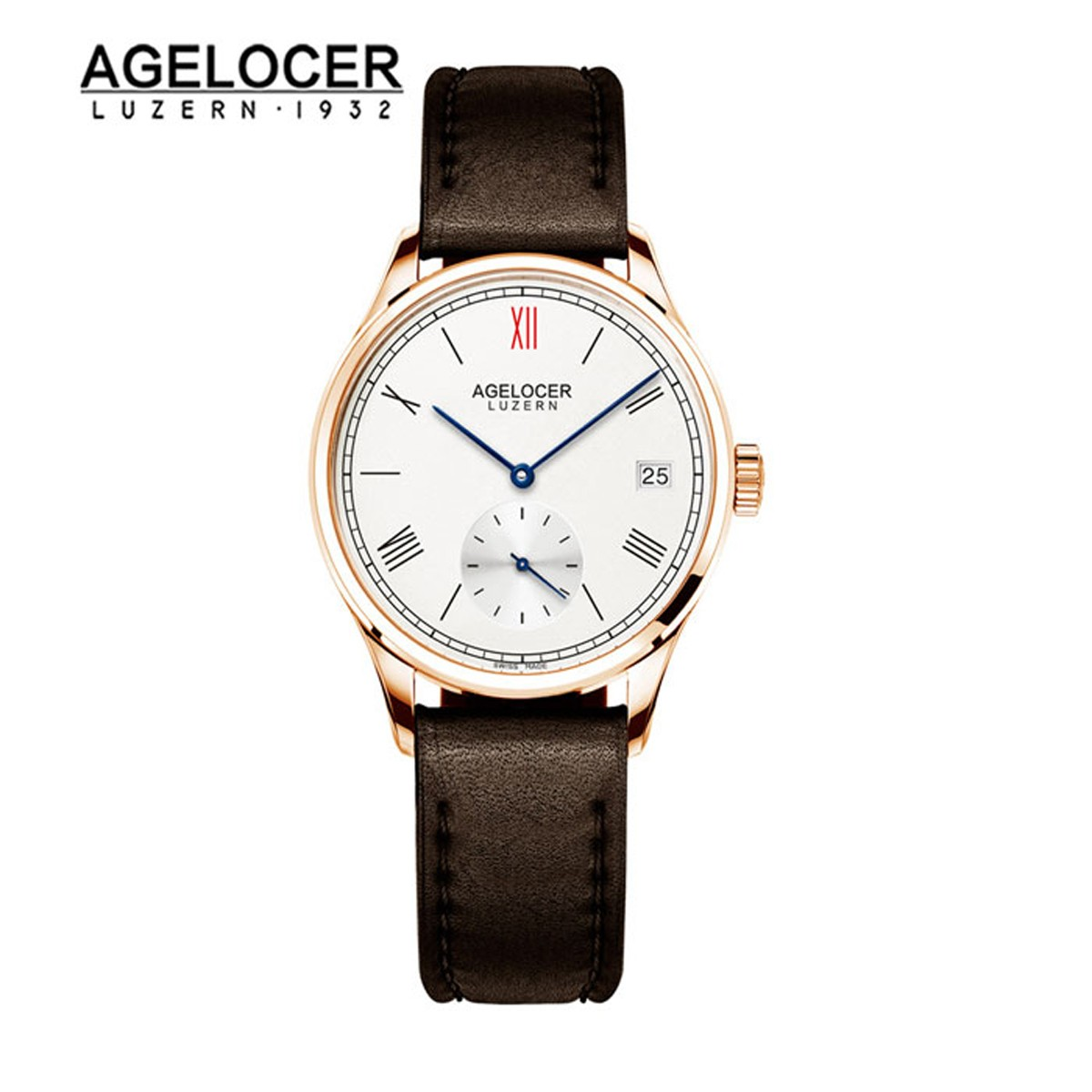 Agelocer Luzern 36mm Rose Gold 110D1