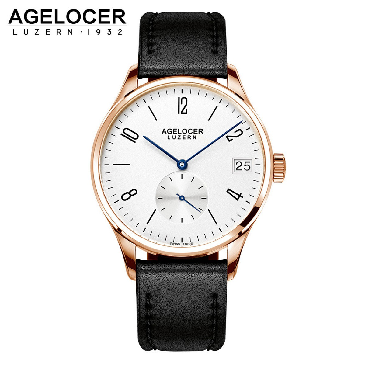 Agelocer Luzern 40mm Rose Gold 1102D1