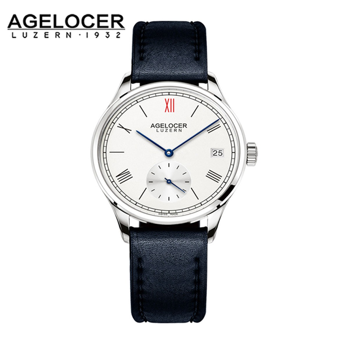 Agelocer Luzern 36mm Steel 1201A1