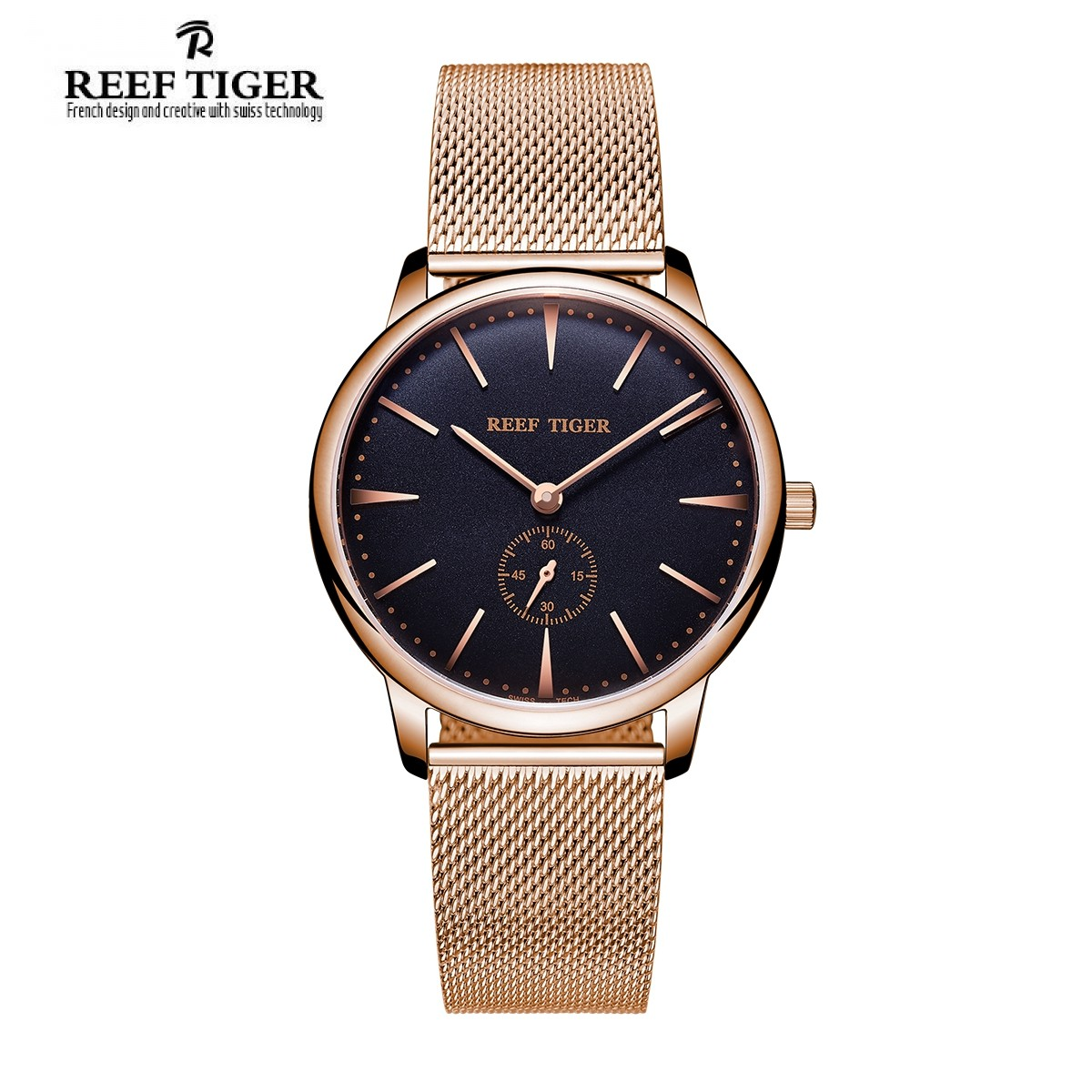 Classic Vintage 40mm Rose Gold RGA820-MPBP