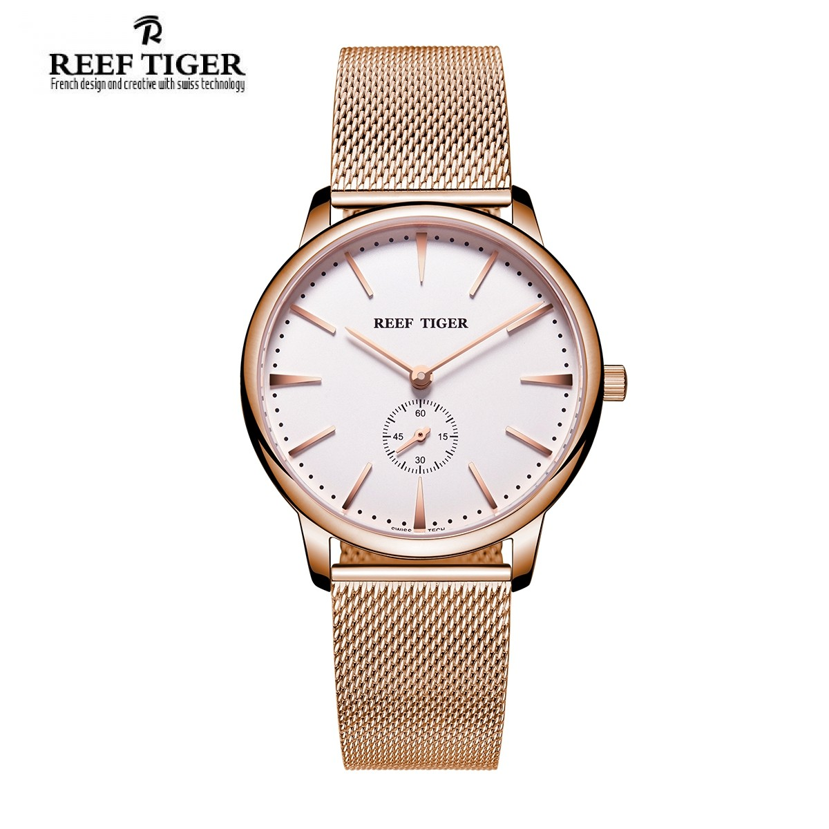 Classic Vintage 40mm Rose Gold RGA820-MPWP