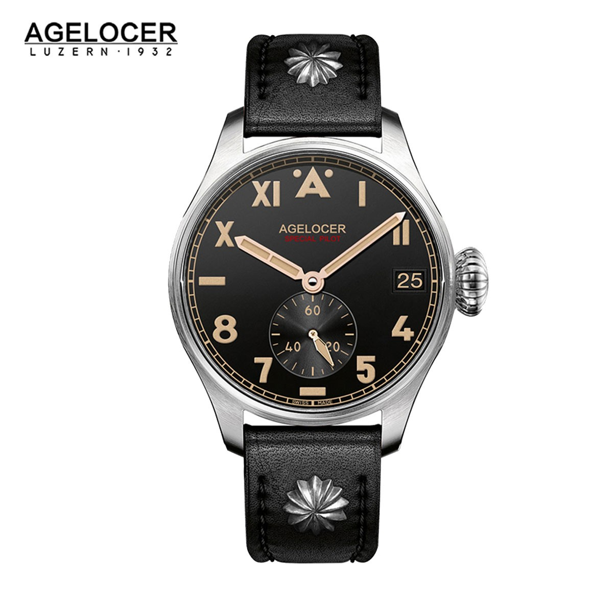 Agelocer North Carolina 42mm Steel 3101A1