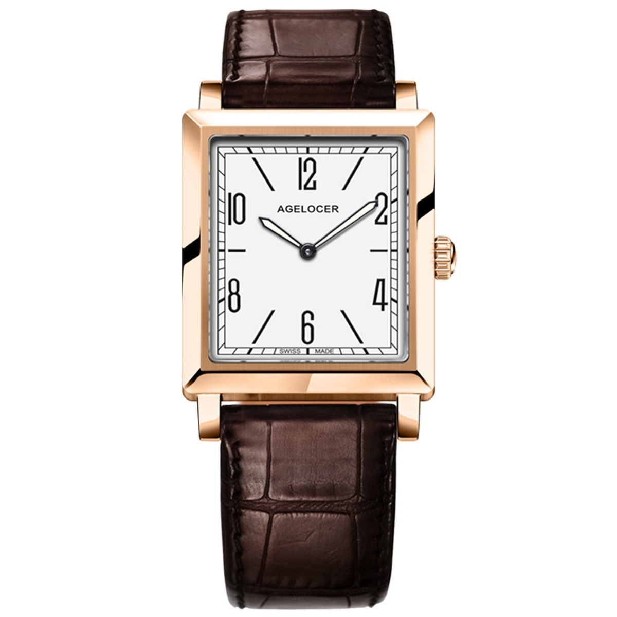 Agelocer Codex 30mm Rose Gold 3403D2