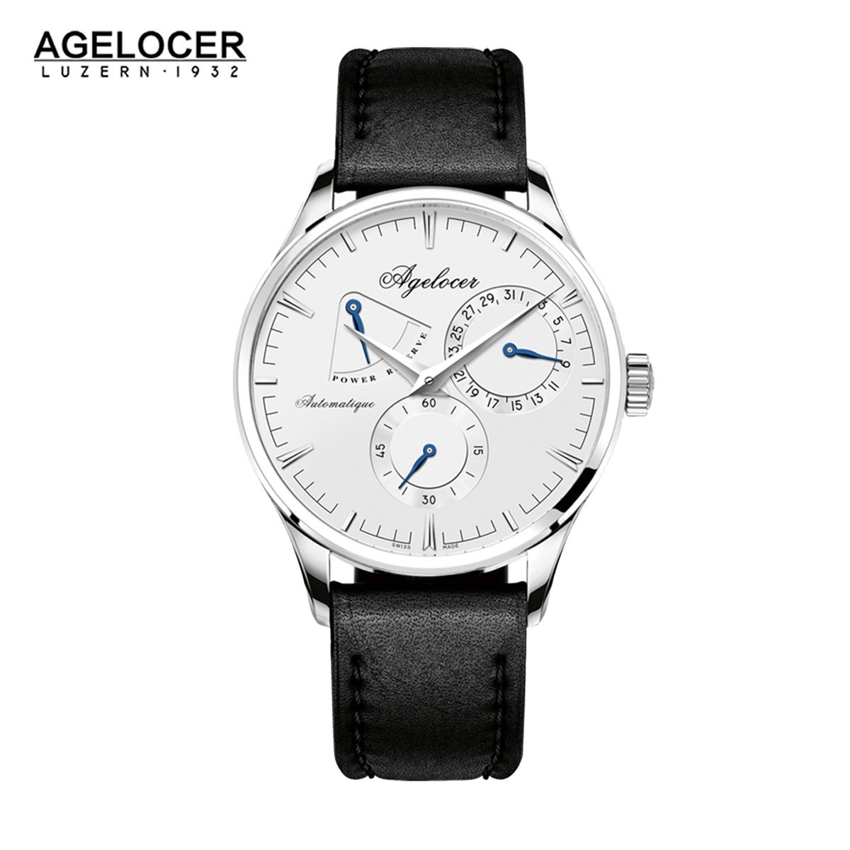 Agelocer Budapest 40mm Steel 4101A1