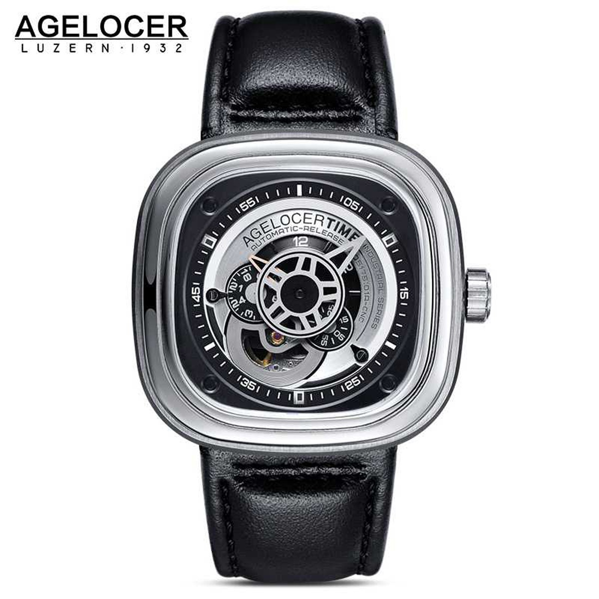 Agelocer Big Bang 47*47.6mm Steel 5001A1
