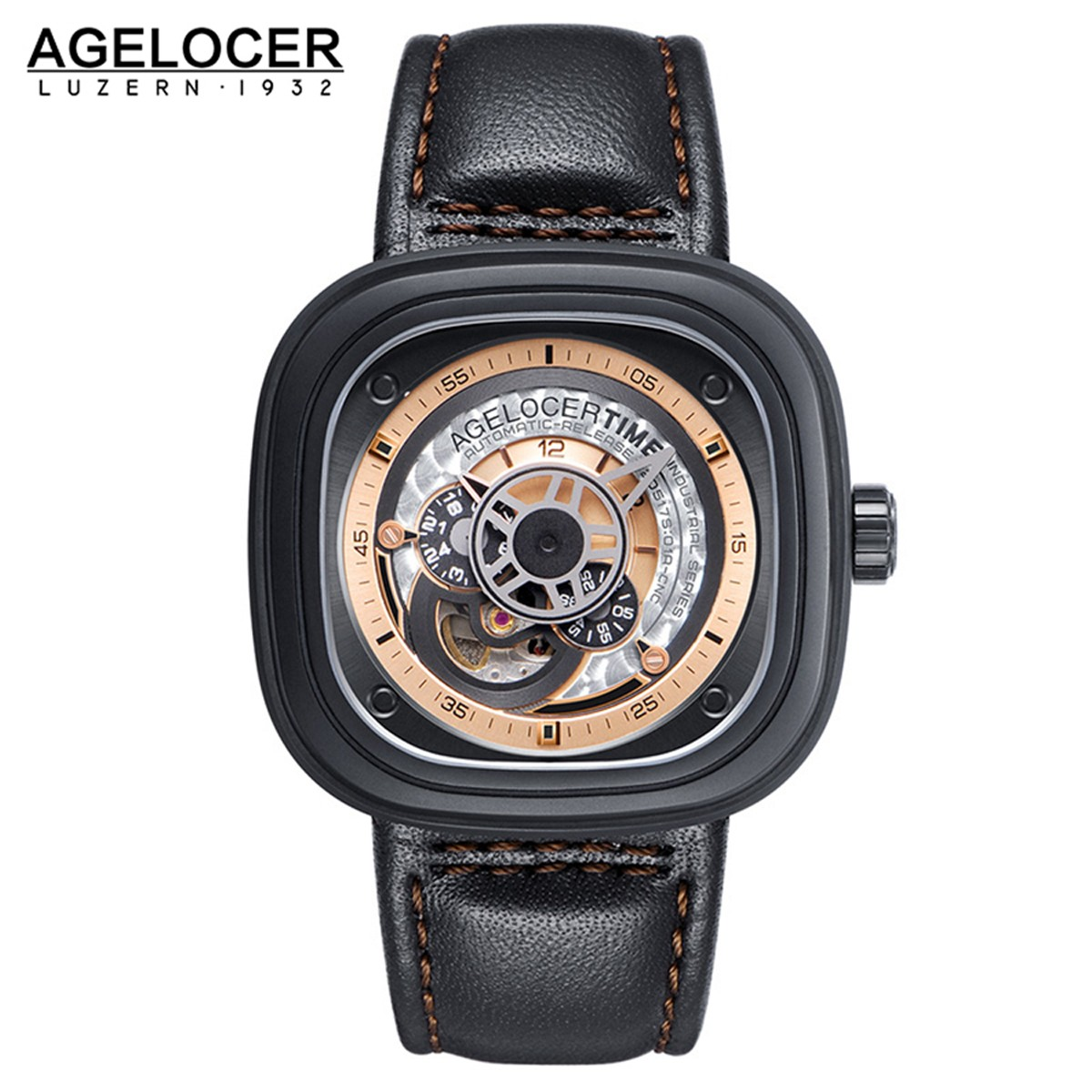 Agelocer Big Bang 47*47.6mm DLC 5002B2
