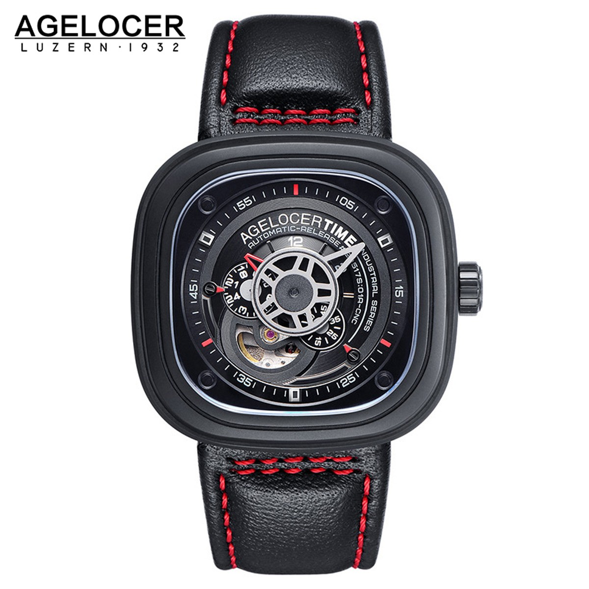 Agelocer Big Bang 47*47.6mm DLC 5004J1