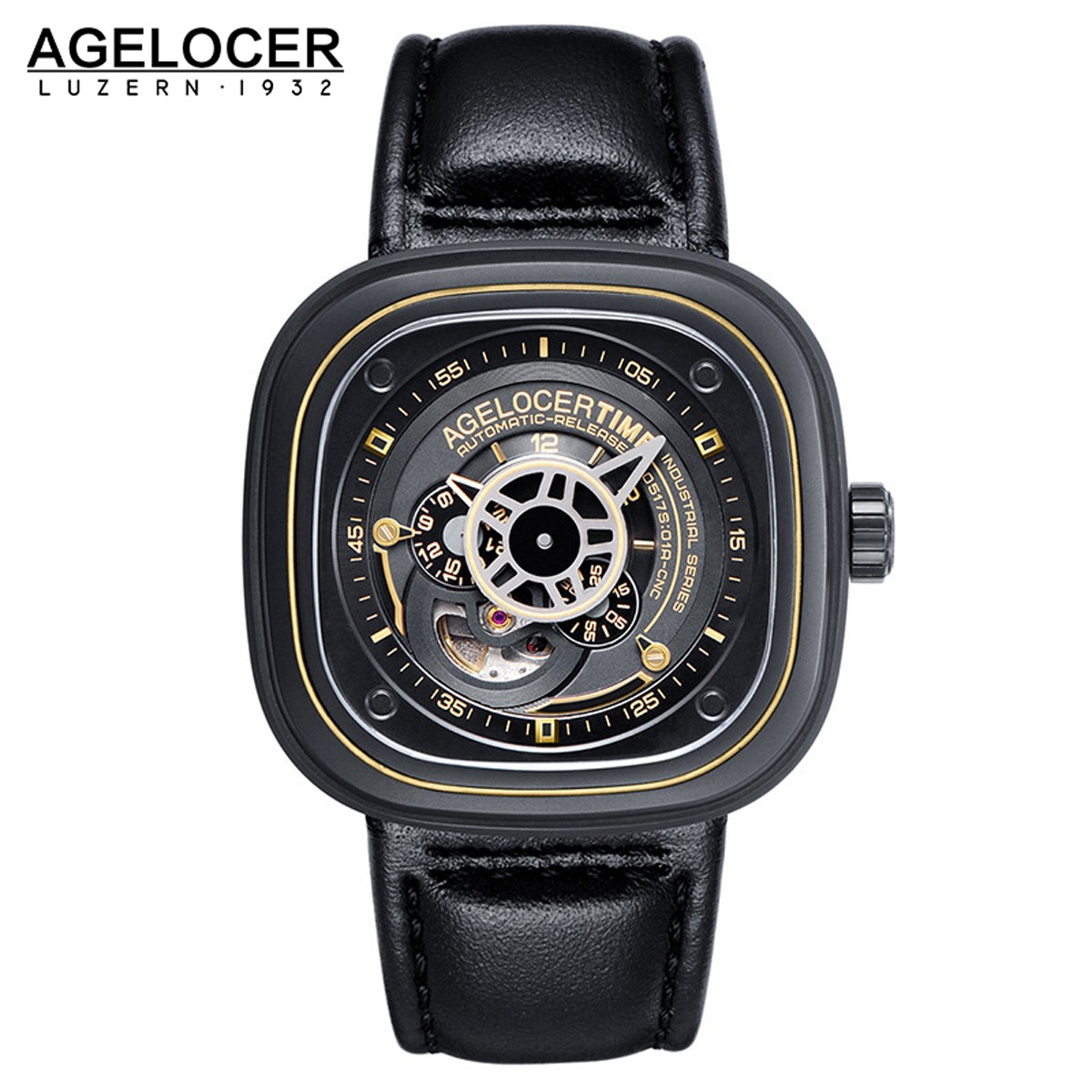 Agelocer Big Bang 47*47.6mm DLC 6003C1