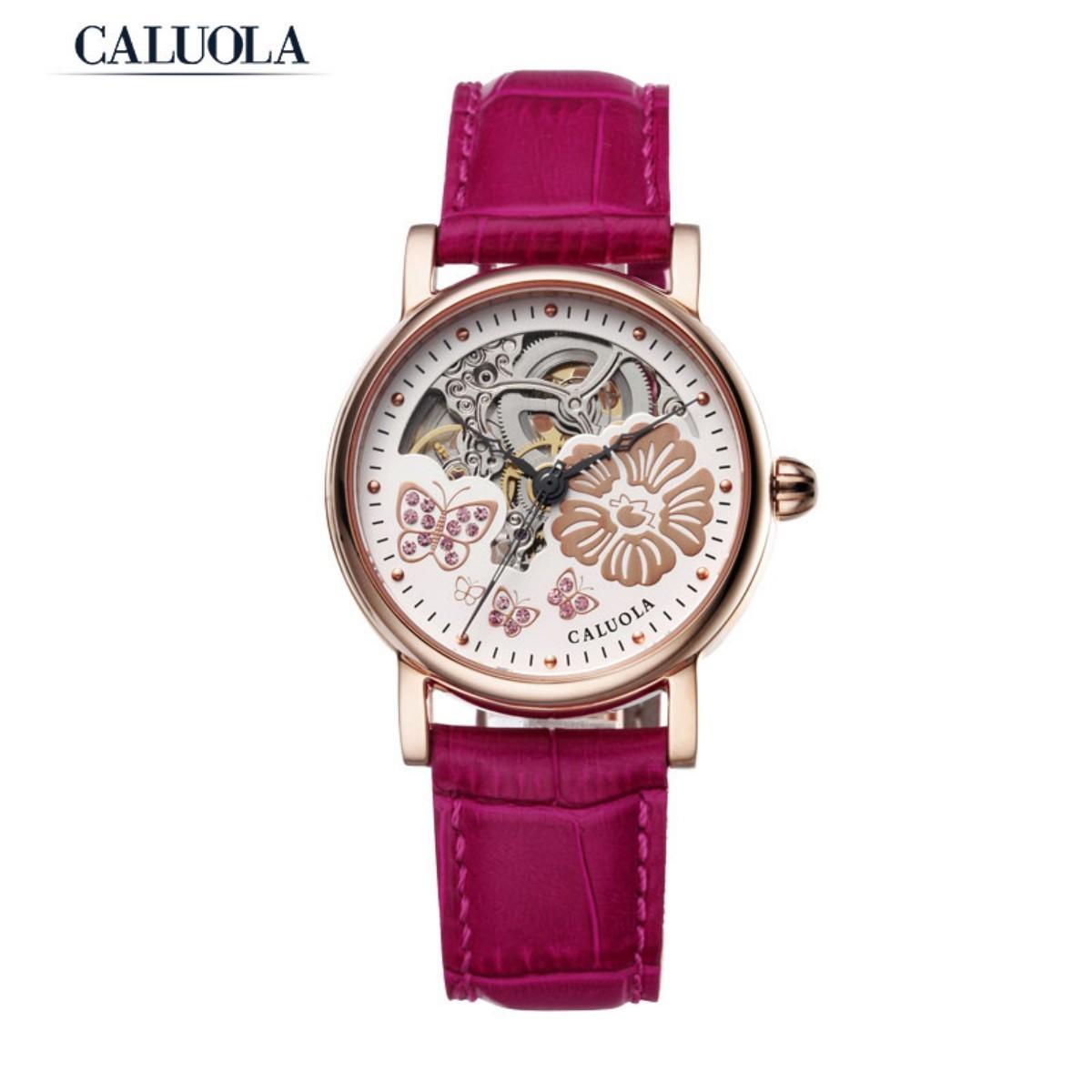 Caluola Women Watch Rose Gold 35mm CA1090M
