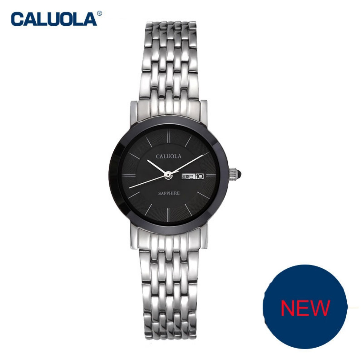 Caluola Women Watch 27mm Steel 1027