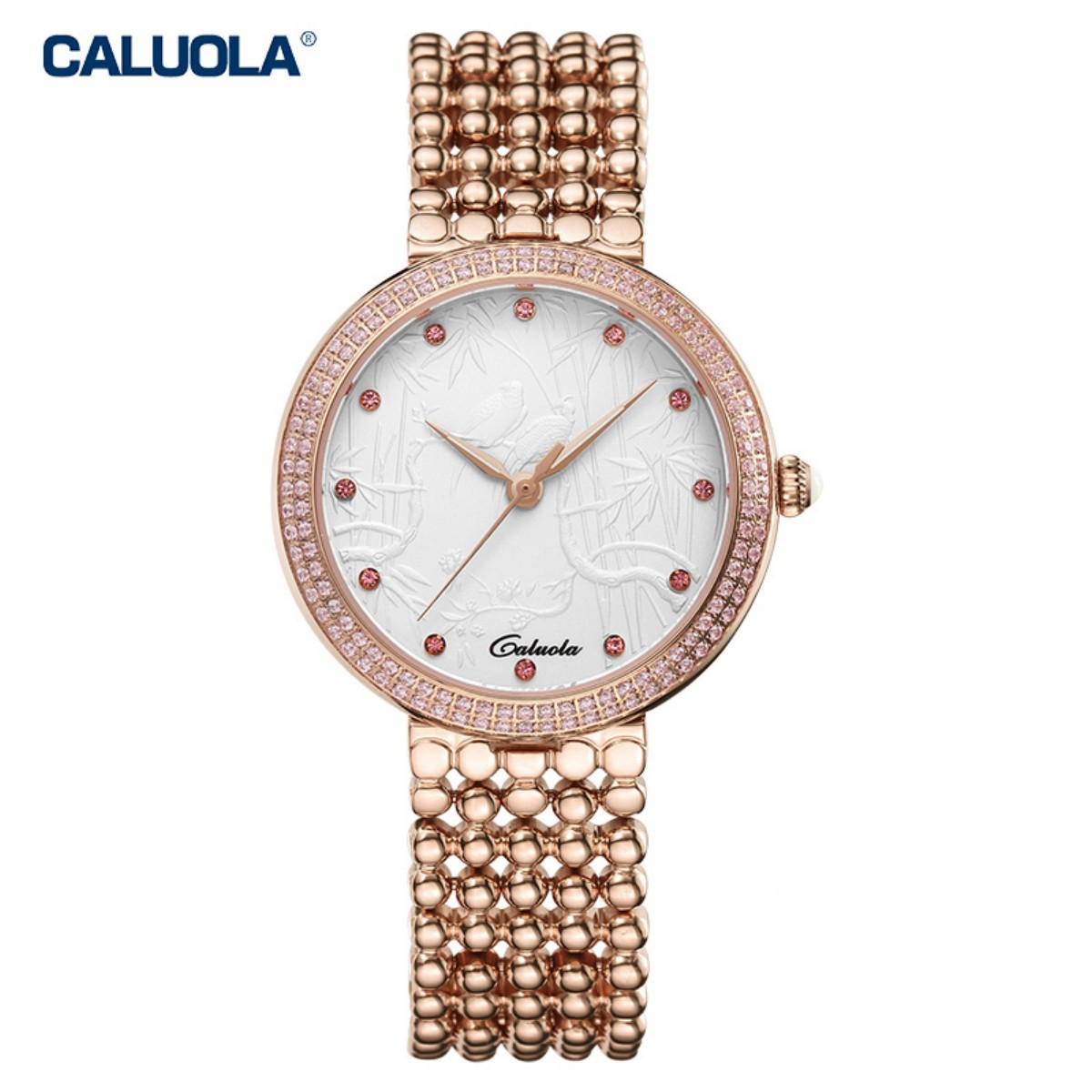 Caluola Women Watch 35mm Rose Gold 1145