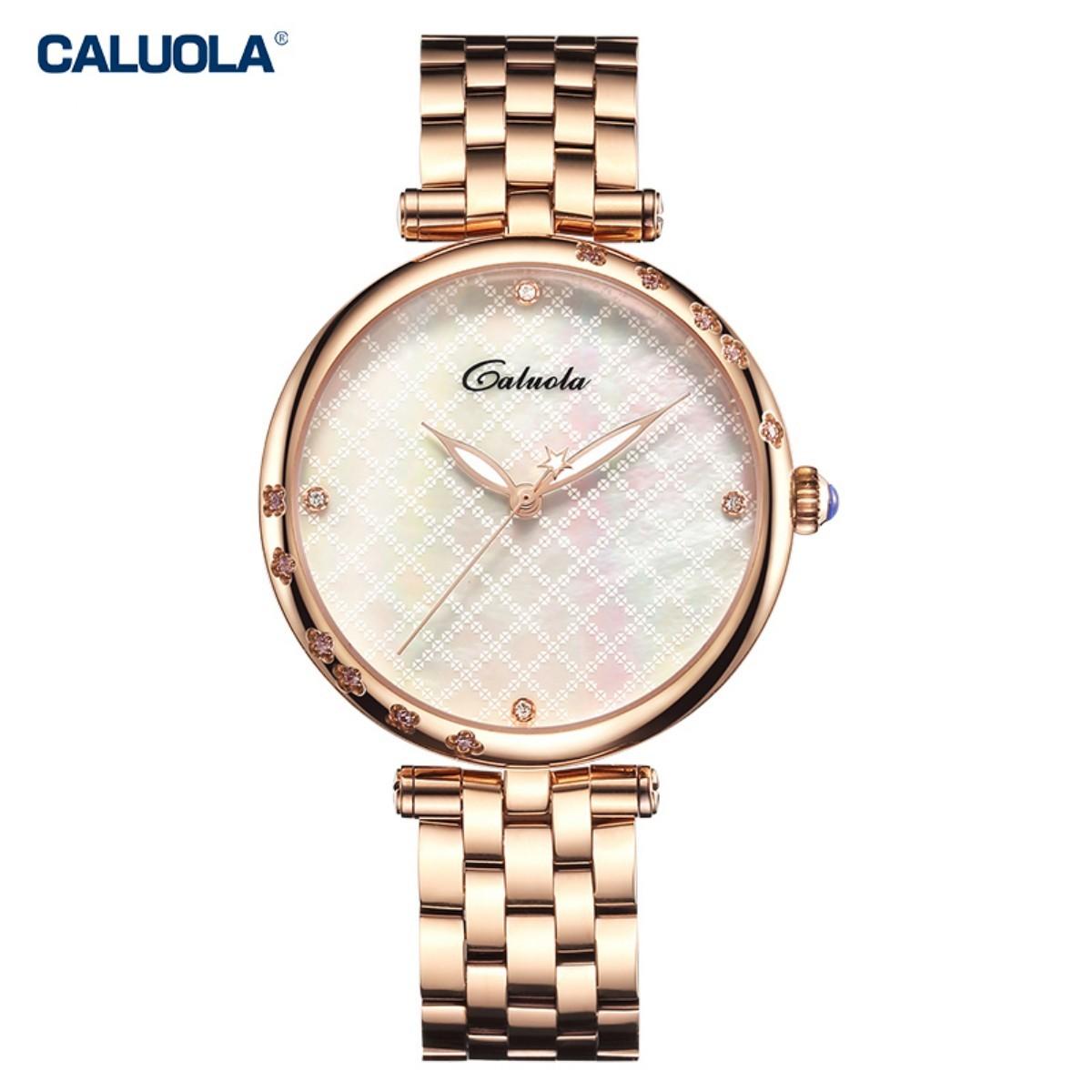 Caluola Women Watch 34mm Rose Gold CA1190
