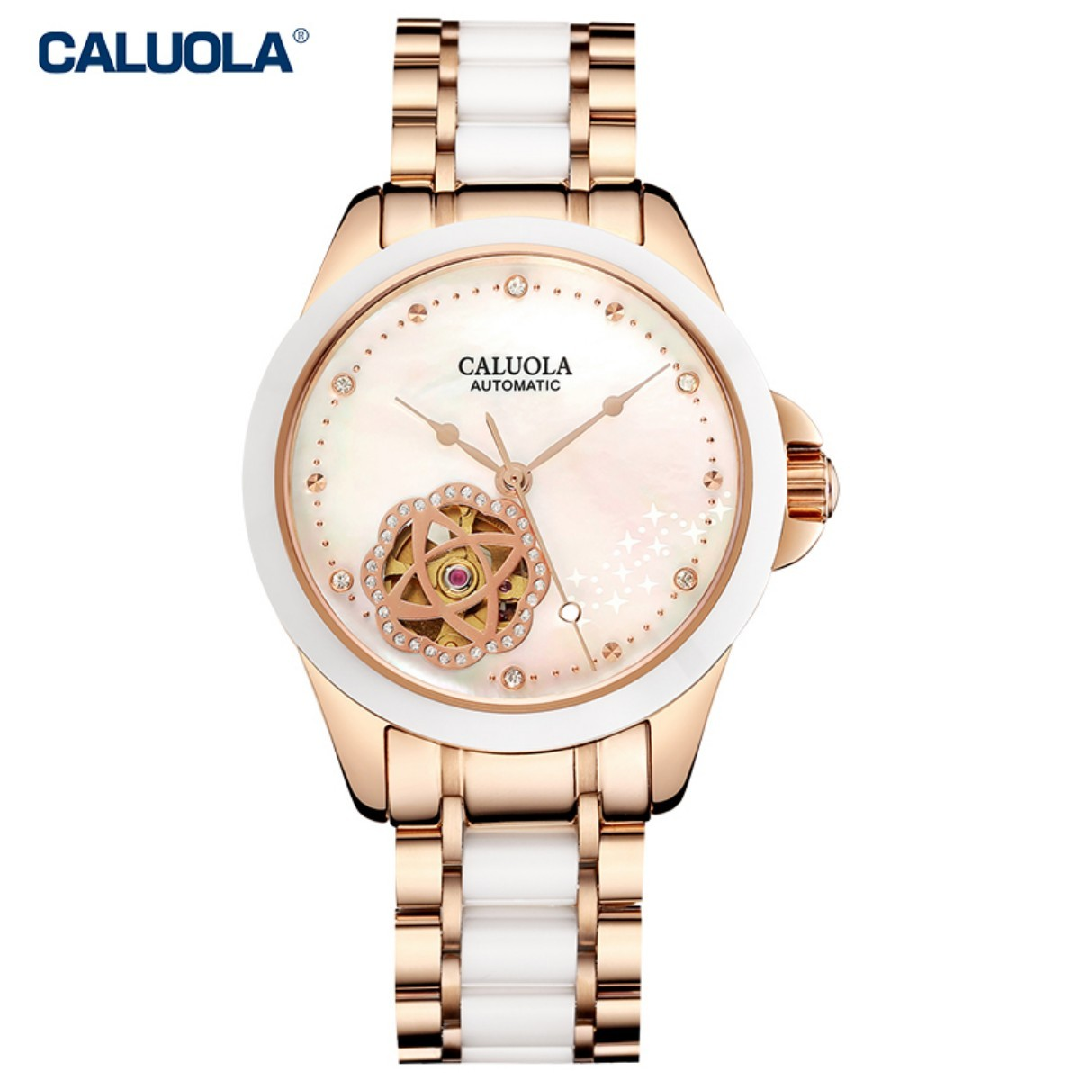 Caluola Women Watch 35mm Two Tone 1212