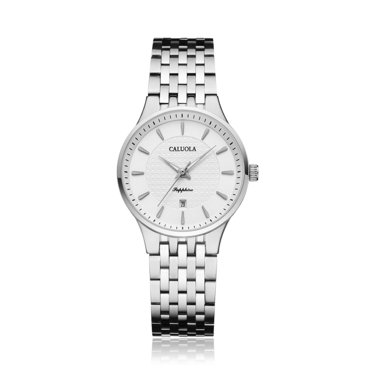 Caluola Women Watch 30mm Steel 1217