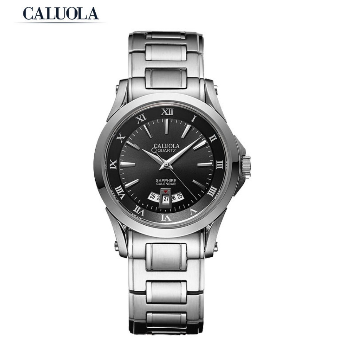 Caluola Men Watch 40mm Steel CA1006