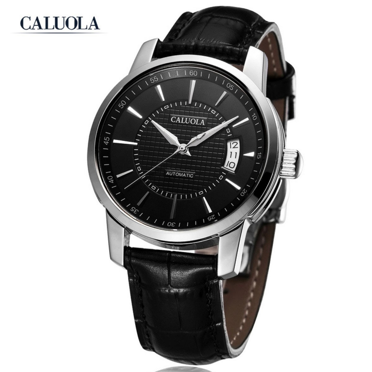 Caluola Men Watch 39mm Steel CA1014L