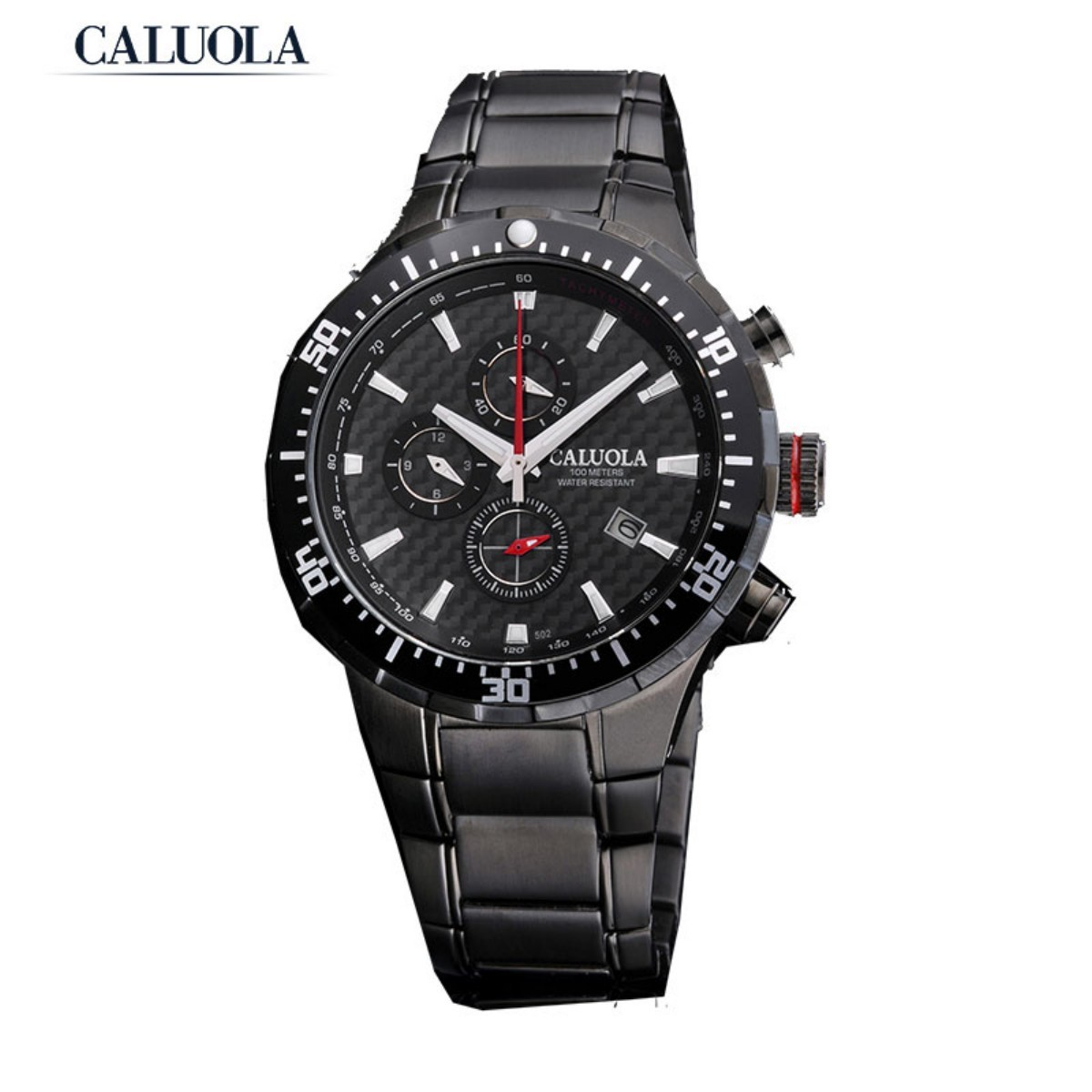 Caluola Men Watch 42.5mm PVD CA1041