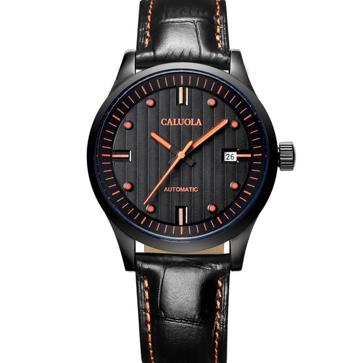 Caluola Men Watch 40mm PVD CA1044L