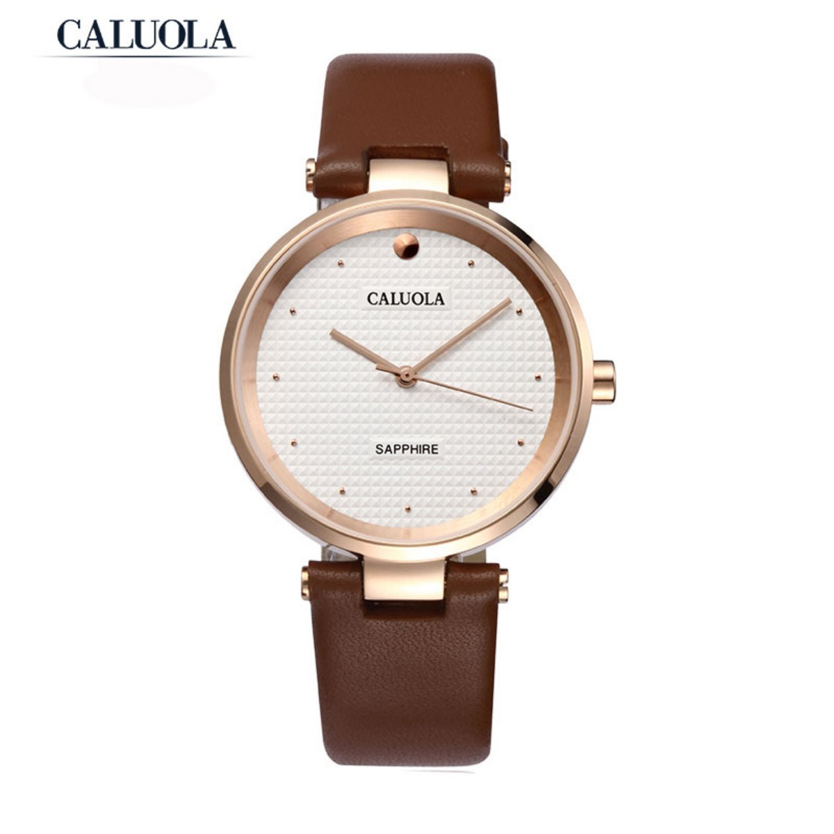 Caluola Men Watch 39mm Rose Gold CA1055MM