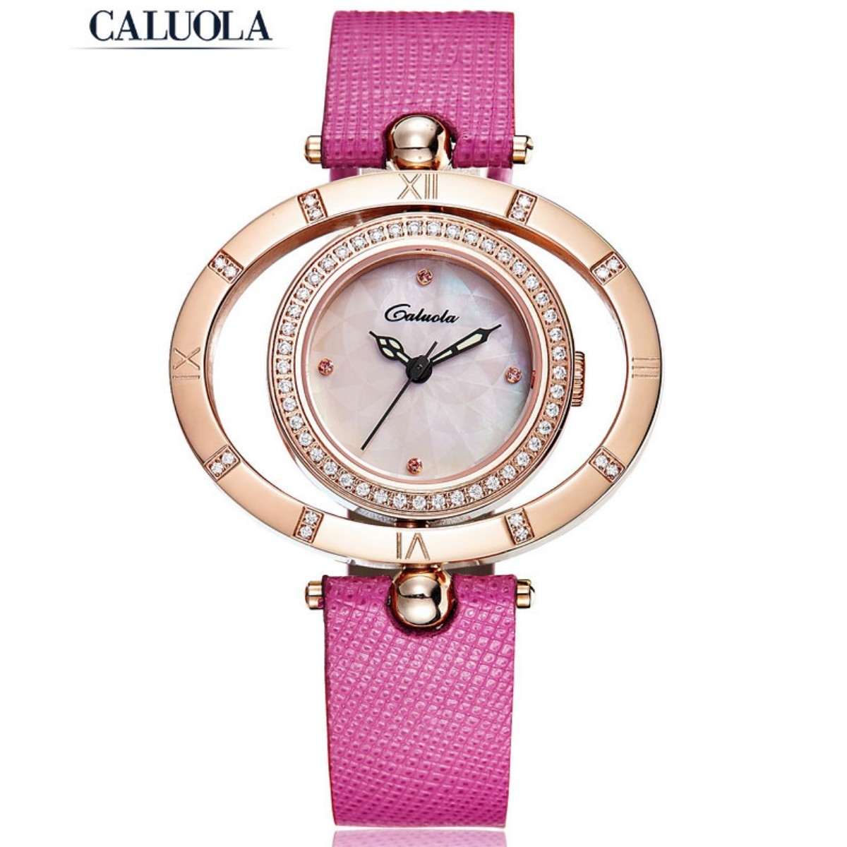 Caluola Women Watch 25mm Rose Gold  CA1126