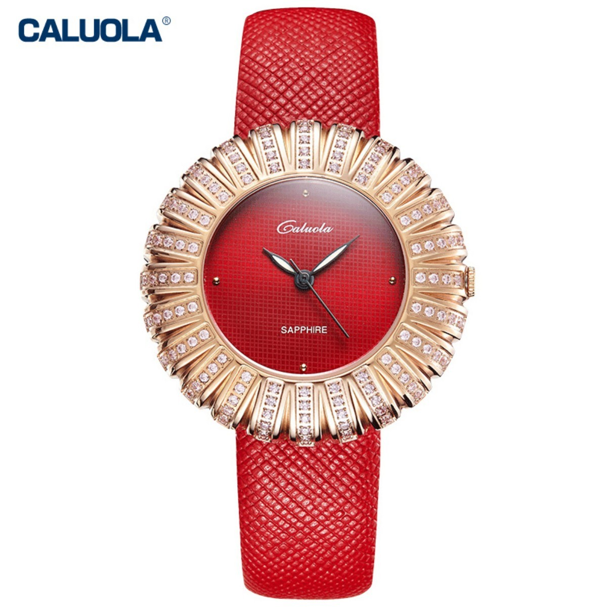 Caluola Women Watch 36mm Rose Gold CA1179