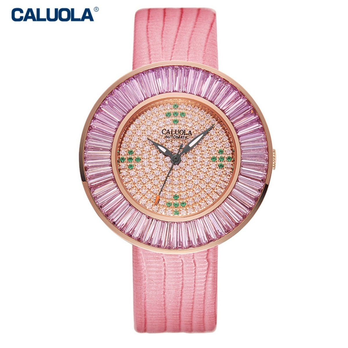 Caluola Women Watch 36mm Rose Gold CA1184