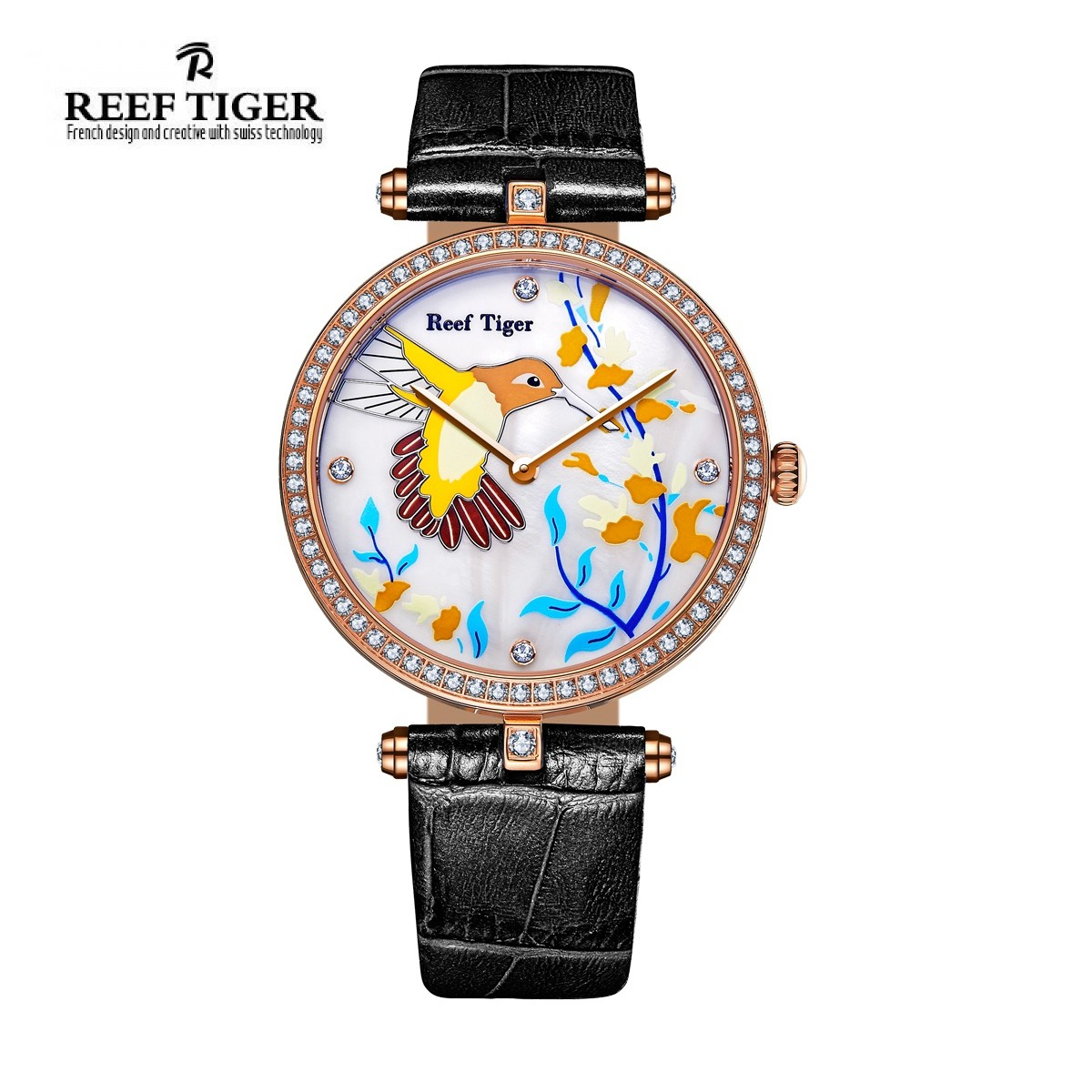 Love Florilege II 39mm Rose Gold RGA1562-PWBD