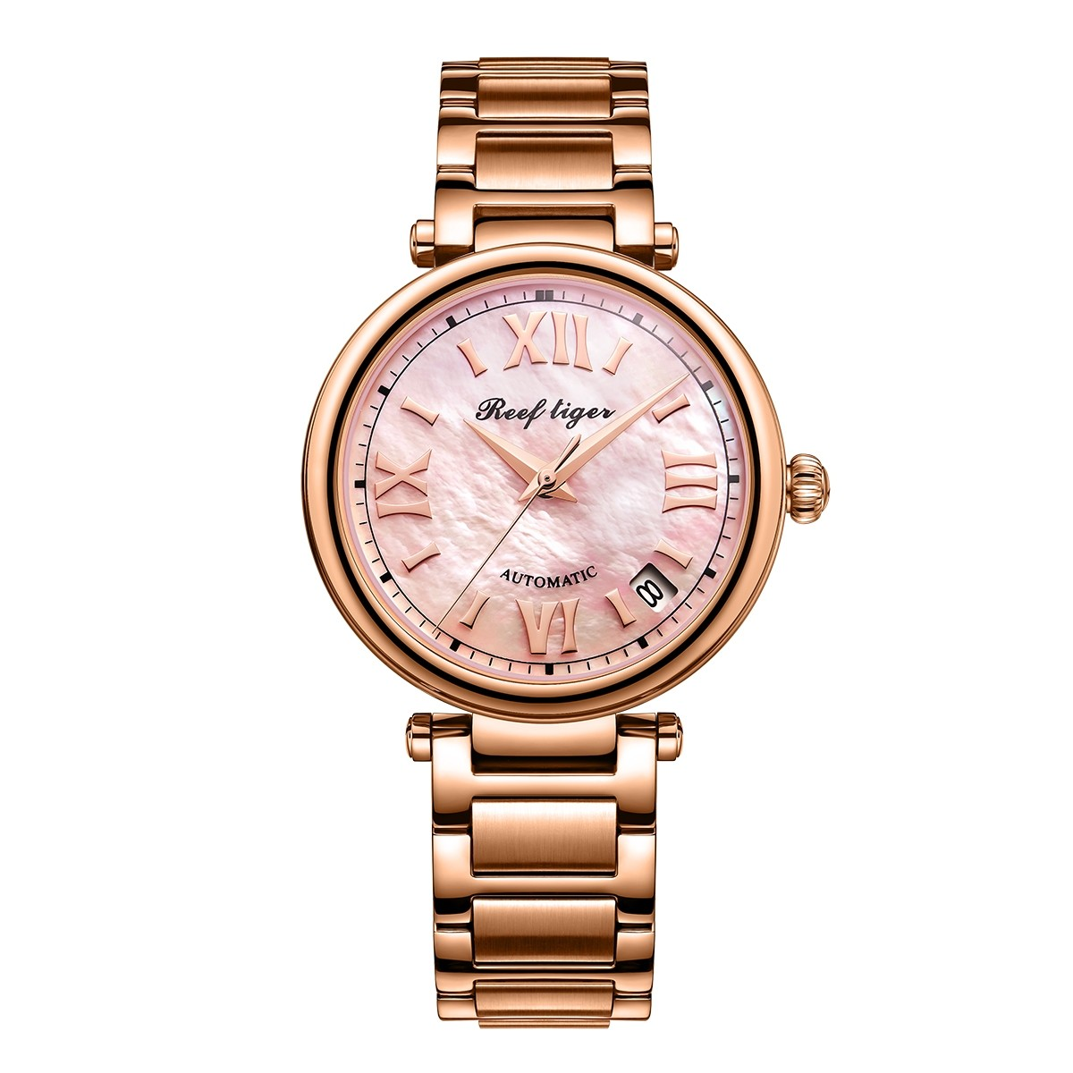 Melody & Luthier 34mm Rose Gold RGA1595-PPP