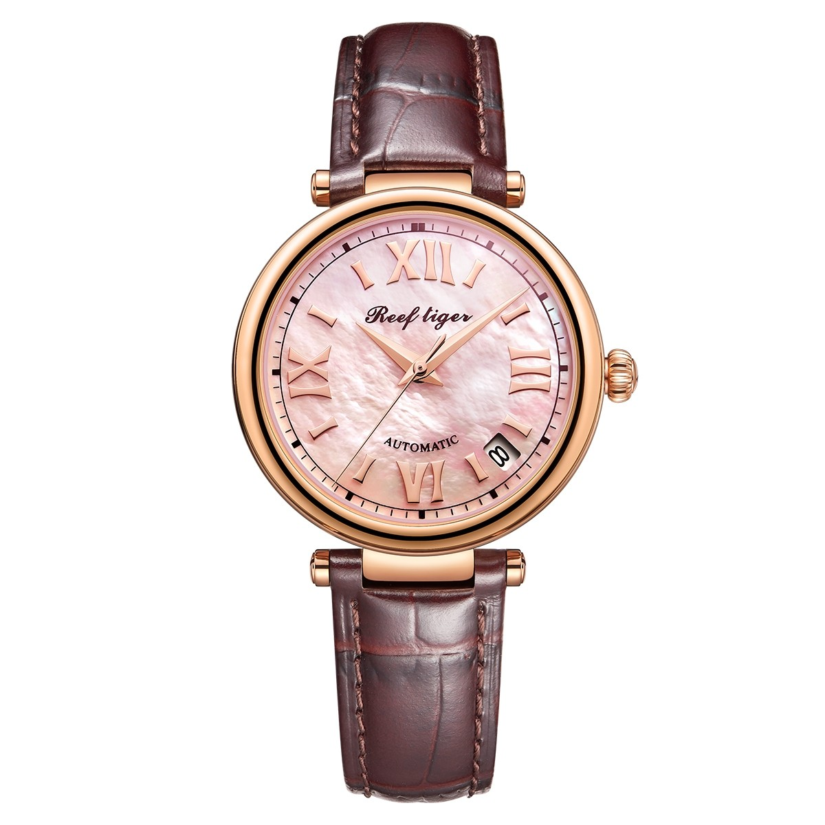 Melody & Luthier 34mm Rose Gold RGA1595-PPW