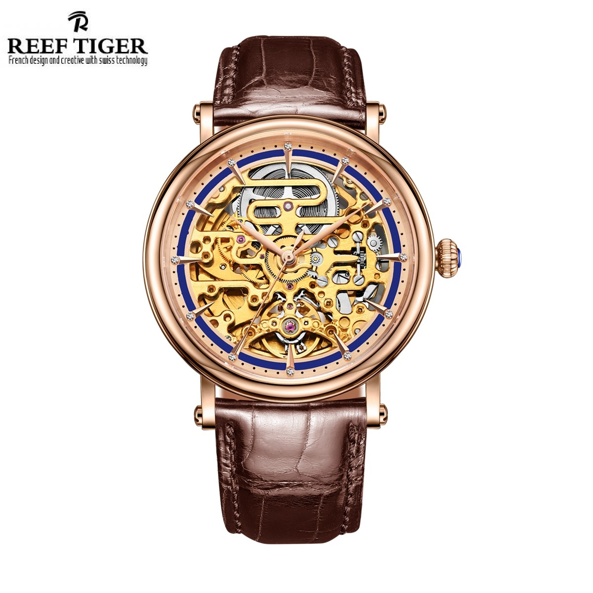 Artist Métiers D'Art 40mm Rose Gold RGA1917-PLB