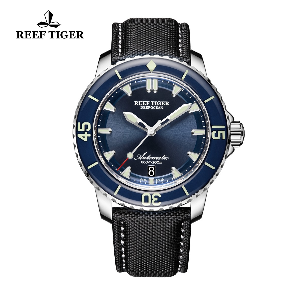 Aurora Deep Ocean 44.5mm Steel RGA3035-YLB