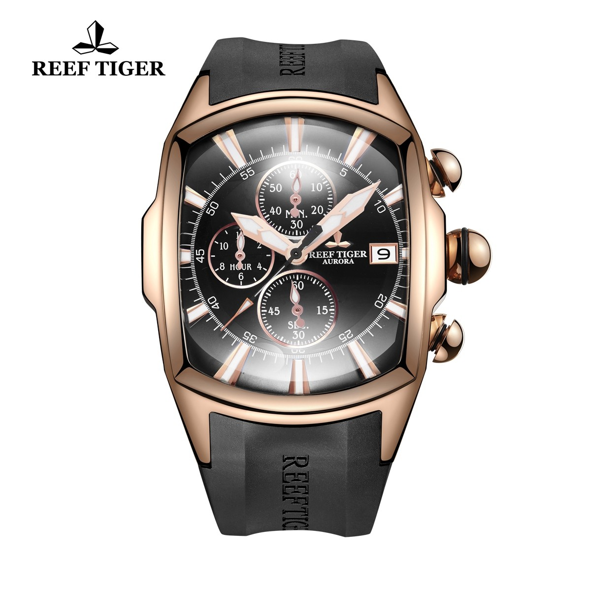 Aurora Tanker T 45X19 mm Rose Gold RGA3069-T-PBB