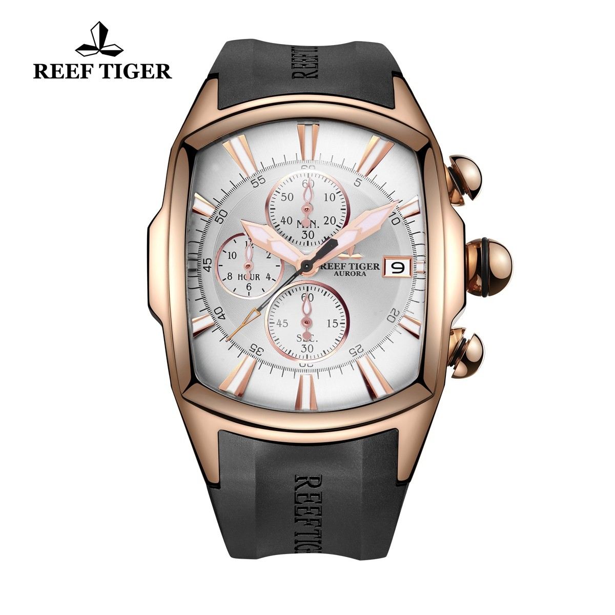 Aurora Tanker T 45X19 mm Rose Gold RGA3069-T-PWB