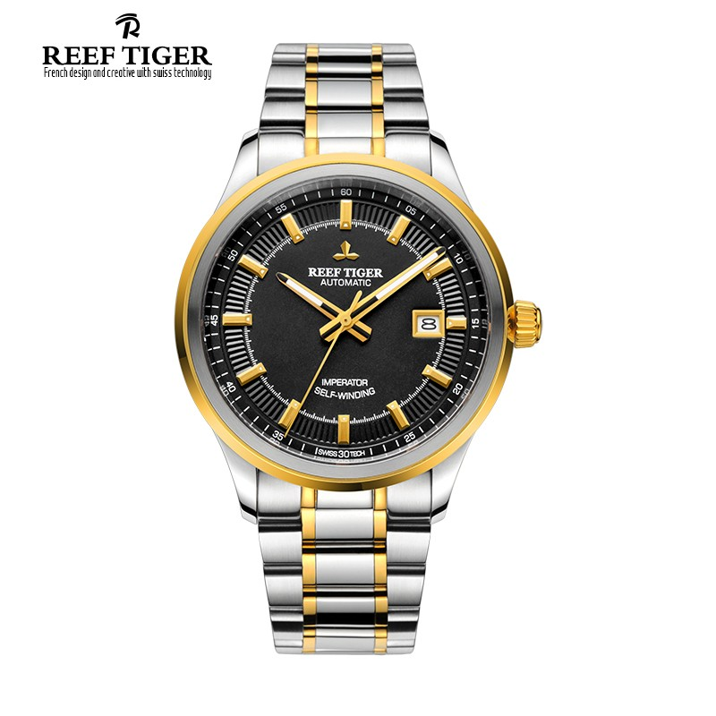 Classic Imperator 40mm Yellow Gold Steel RGA8015-GBT