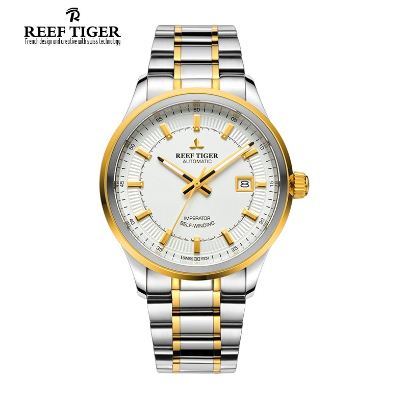 Classic Imperator 40mm Yellow Gold Steel RGA8015-GWT