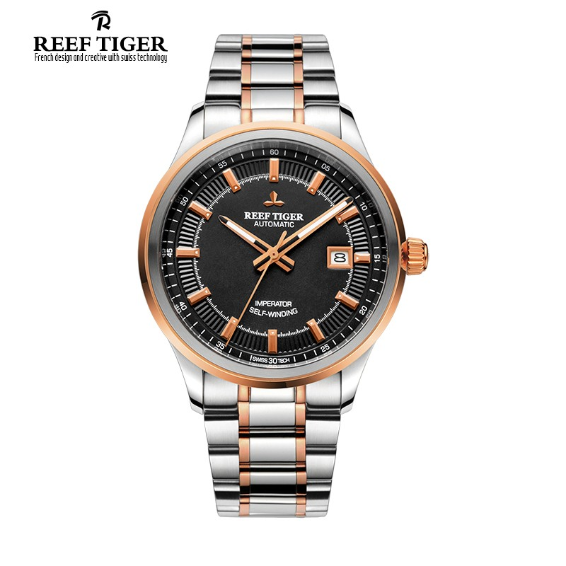 Classic Imperator 40mm Rose Gold Steel RGA8015-PBT