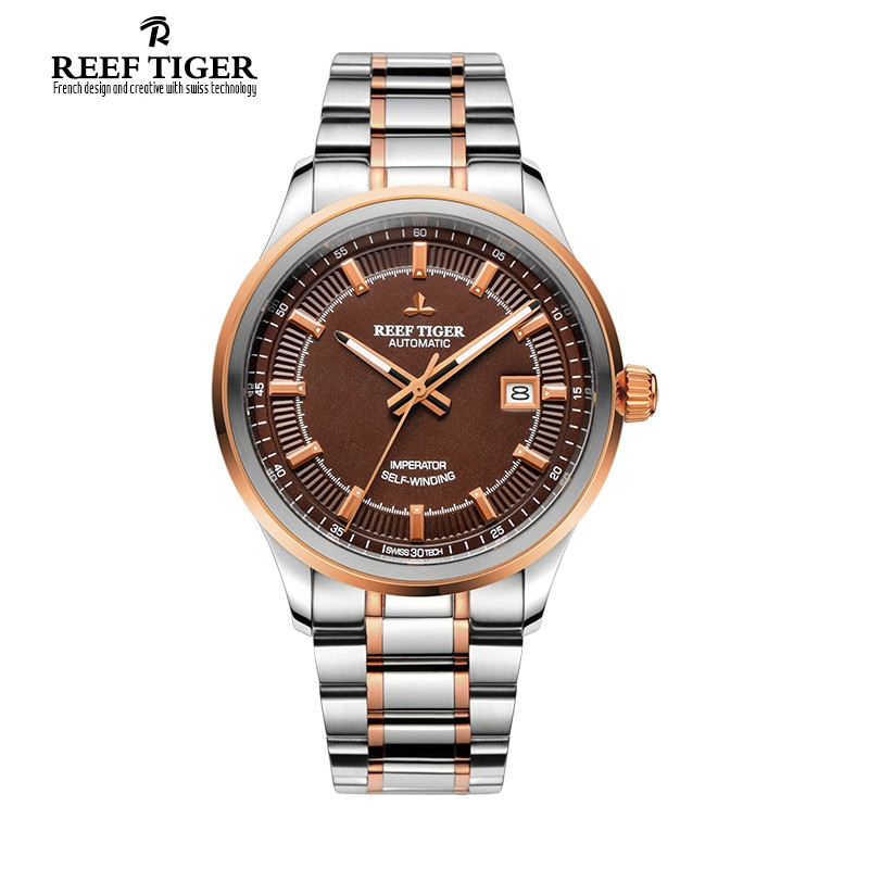 Classic Imperator 40mm Rose Gold Steel RGA8015-PST