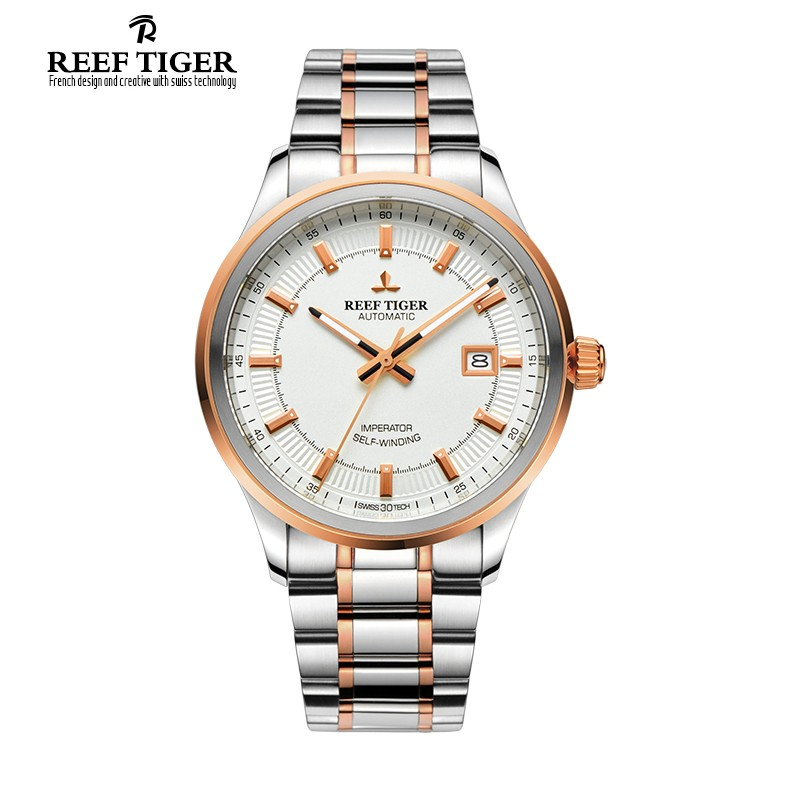 Classic Imperator 40mm Rose Gold Steel RGA8015-PWT