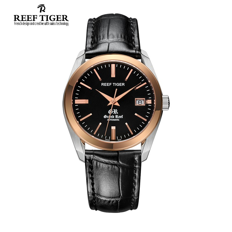 Classic Grand Reef 40mm Rose Gold Steel RGA181-TBB
