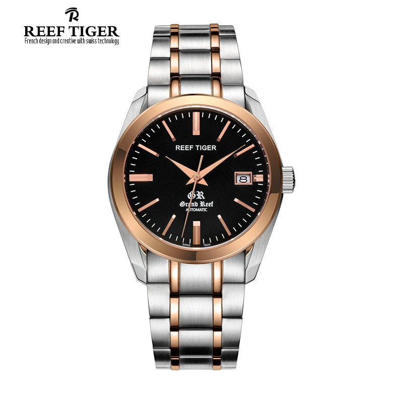 Classic Grand Reef 40mm Rose Gold Steel RGA181-TBT