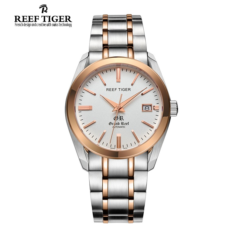 Classic Grand Reef 40mm Rose Gold Steel RGA181-TWT