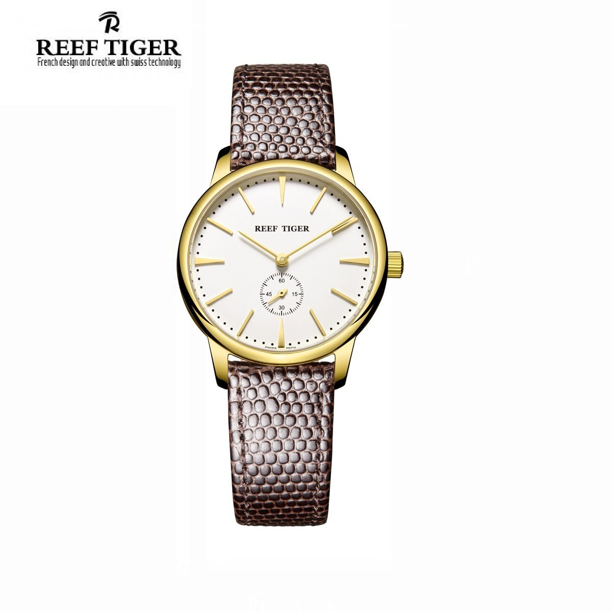 Classic Vintage 32mm Yellow Gold RGA820-GWB