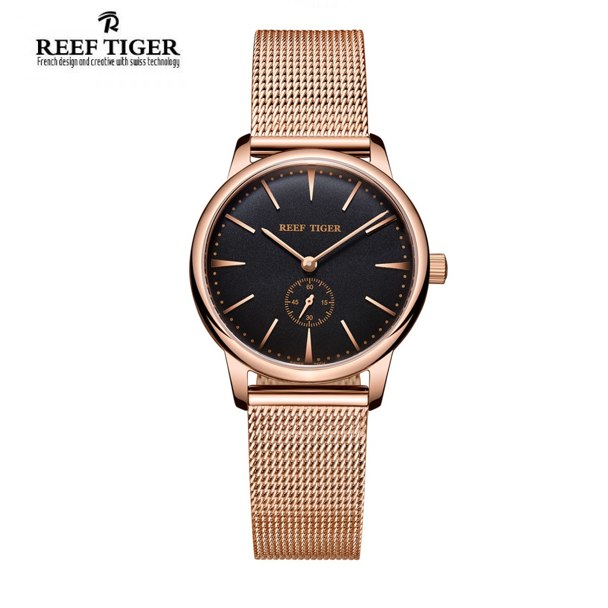 Classic Vintage 32mm Rose Gold RGA820-PBP