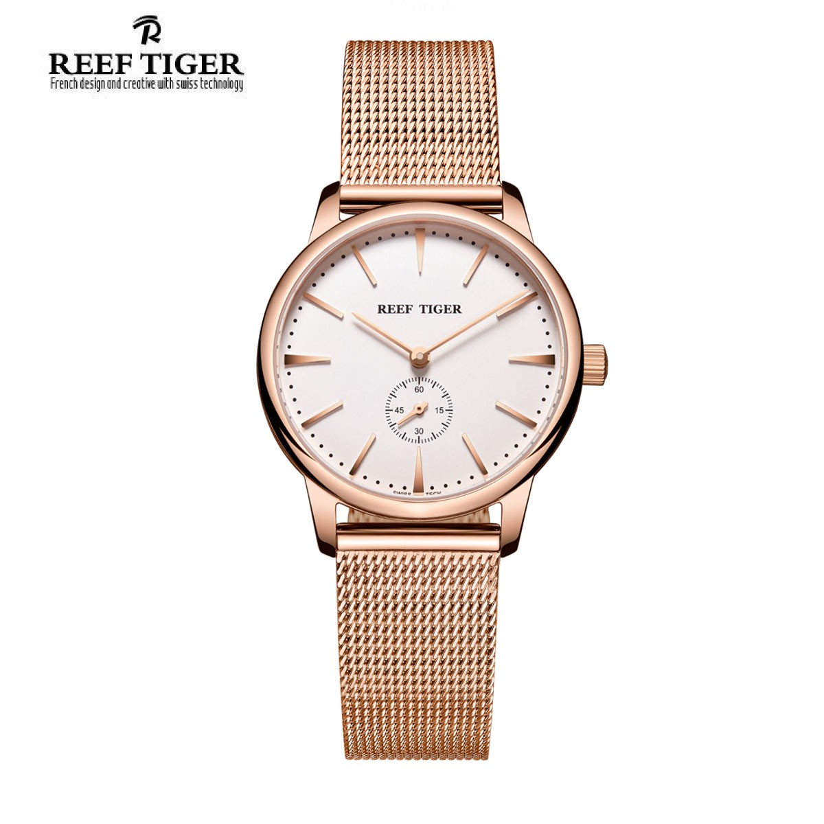 Classic Vintage 32mm Rose Gold RGA820-PWP