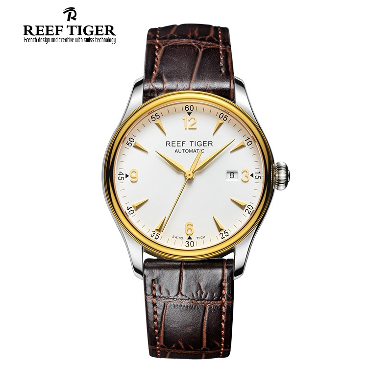 Classic Heritage 42mm Yellow Gold Steel RGA823-TWB