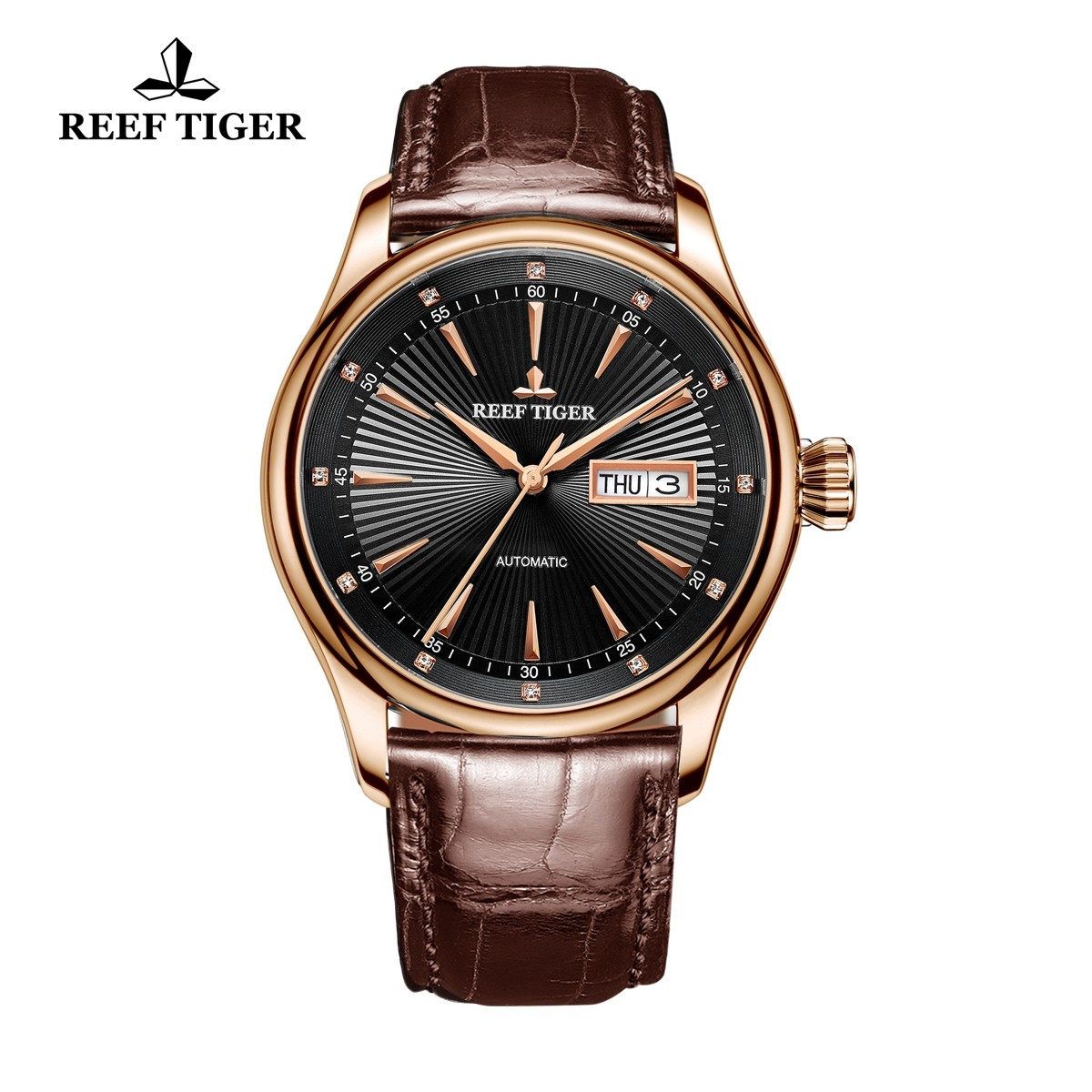 Classic Heritage II 42mm Rose Gold RGA8232-PBB