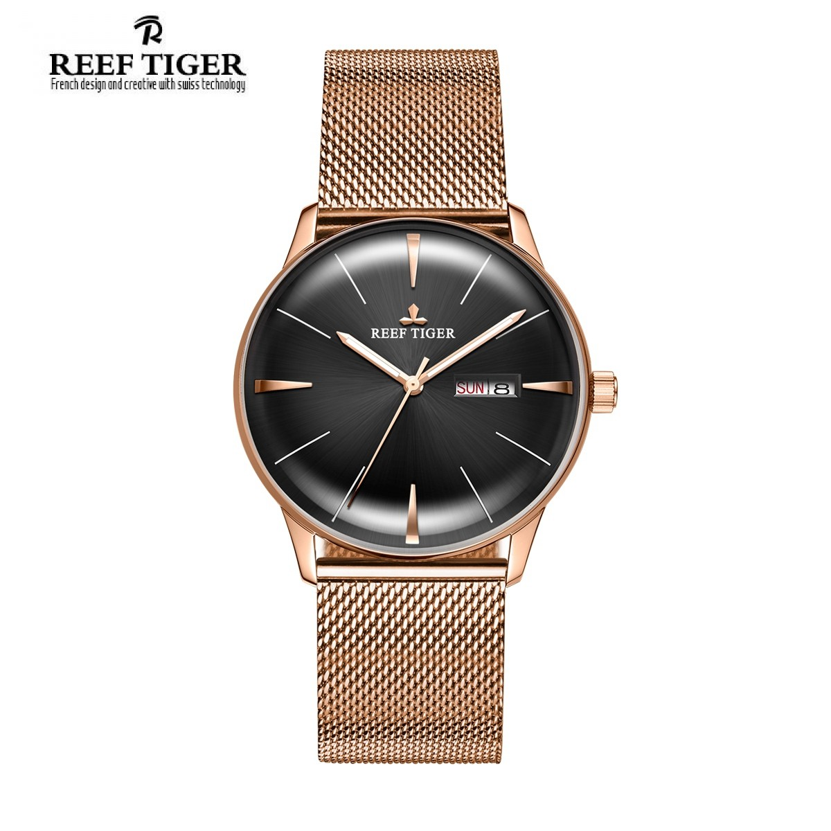 Classic Heritor 40mm Rose Gold RGA8238-PBP