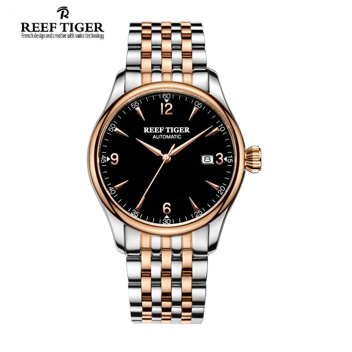 Classic Heritage 42mm Rose Gold RGA823G-PBT