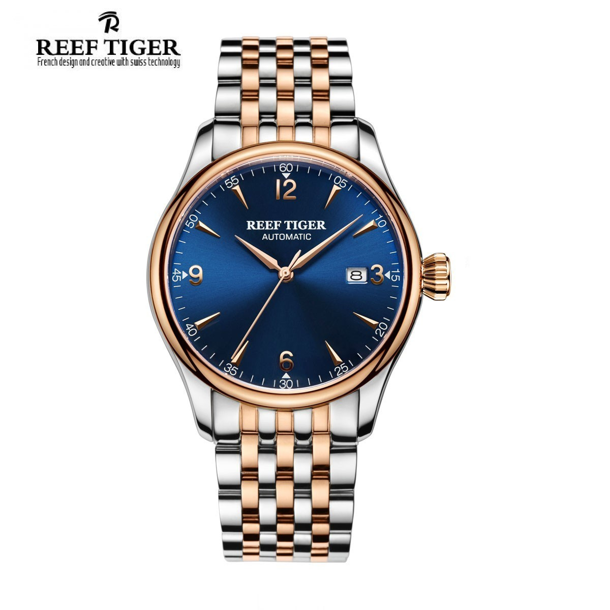 Classic Heritage 42mm Rose Gold RGA823G-PLT
