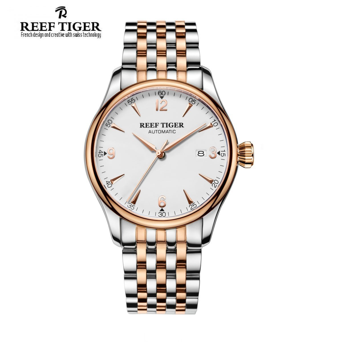 Classic Heritage 42mm Rose Gold RGA823G-PWT